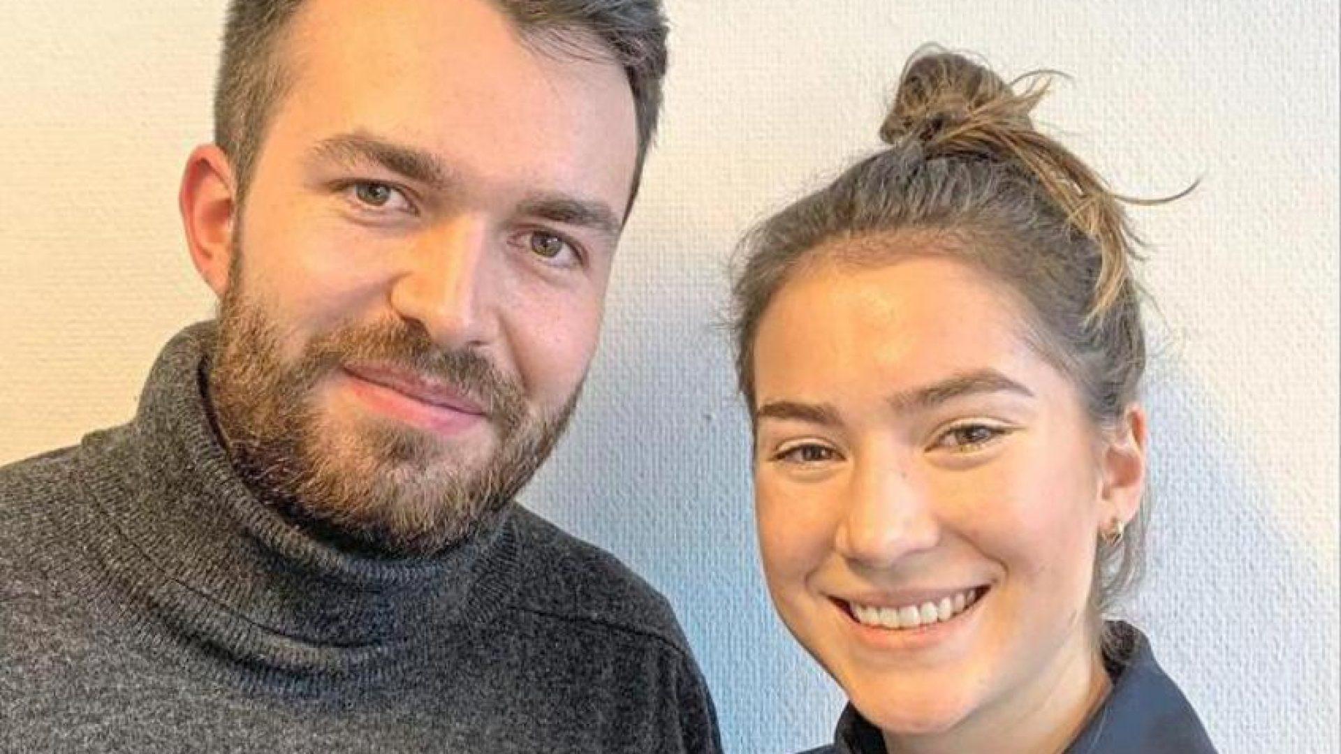 Mathias Schuh und Julia Dieball