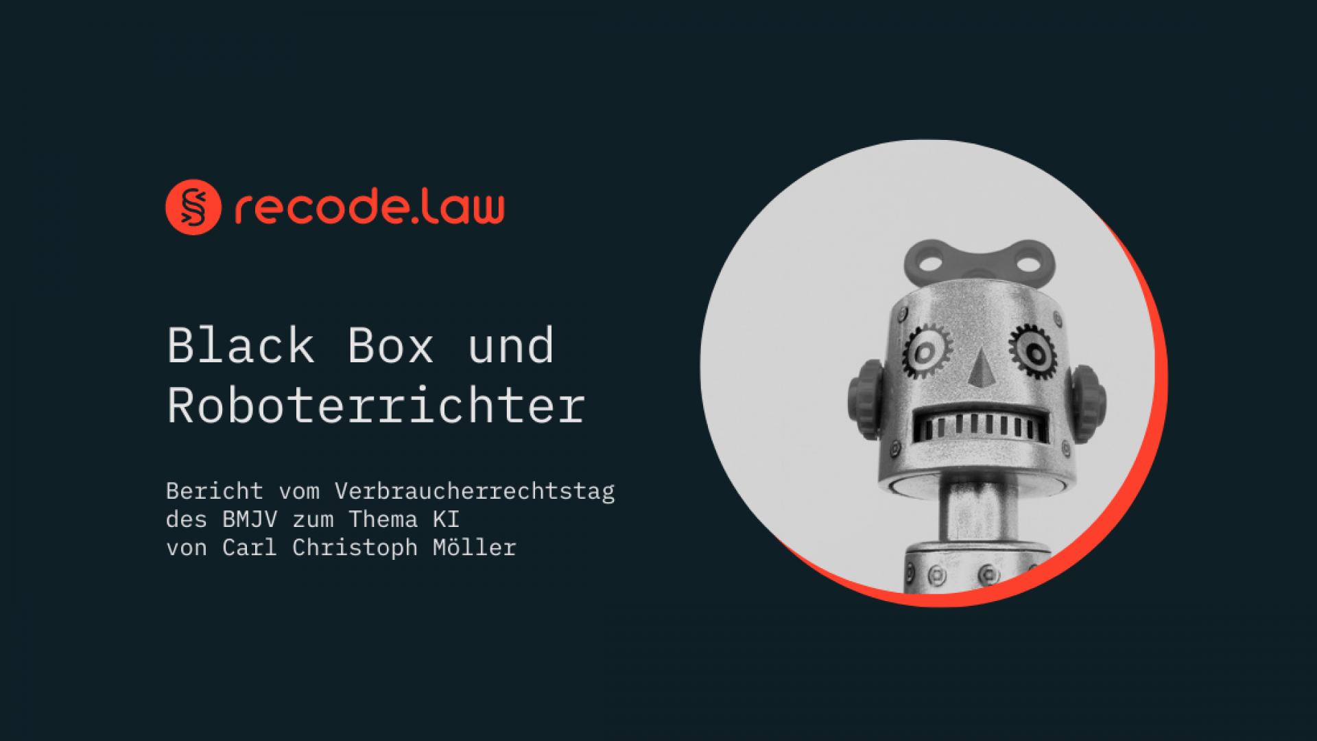 Roboterrichter_Verbraucherrechtstag_BMJV_KI_Moeller